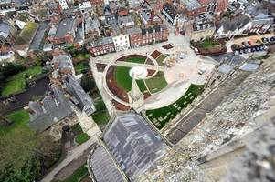 gloucester cathedral's restaurant and gift shop set to be transformed in next phase of project pilgrim building work
