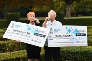 lucky national lottery couple win £500,000 thunderball jackpot - twice