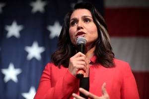 revenge: tulsi gabbard now leads kamala harris
