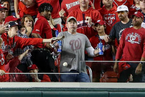 bud light pays tribute to guy who caught world series homer but didn't drop beer (video)