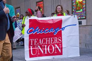 """""""this is a win for our city"""": chicago teachers celebrate end of historic strike after 11 days"""