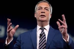 eurosceptic farage urges british pm to listen to trump