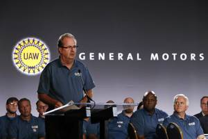 uaw president takes leave of absence as federal corruption probe intensifies
