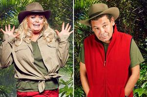 the i'm a celebrity get me out of here stars who never made it into jungle or quit within days