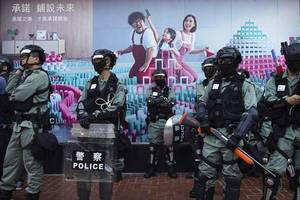 hong kong protesters gather for 'emergency' call for autonomy