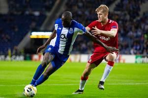 porto receive rangers fitness hope as star striker moussa marega in mix for europa league return
