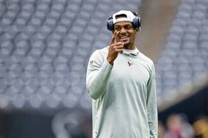 NFL ace Deshaun Watson told he's better than Patrick Mahomes and Russell Wilson
