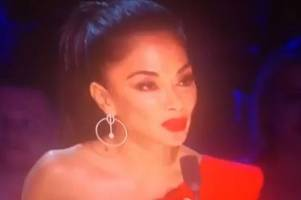 x factor celebrity rocked as nicole scherzinger breaks rules live on air