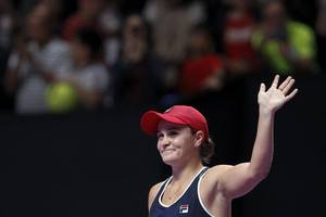 ashleigh barty wins maiden wta finals to top perfect year