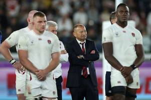 eddie jones says this england team 'is finished' as he hits out at criticism following rugby world cup final defeat