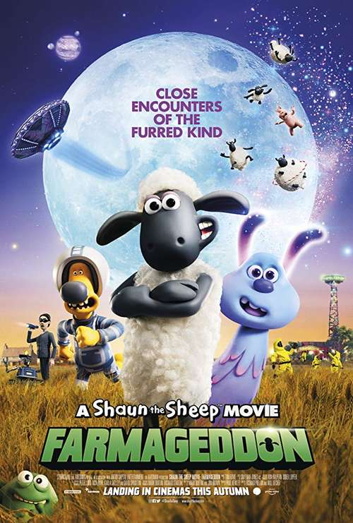 MOVIE REVIEW: Shaun the Sheep: Farmageddon