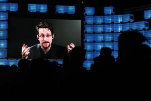 big tech business model based on 'abuse', snowden tells web summit