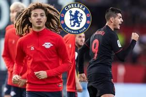 alvaro morata's goal, ethan ampadu makes rb leipzig debut - how chelsea's loan players fared