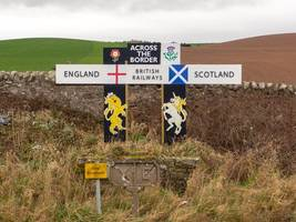 brexit 'could mean border checks between england, scotland and wales'