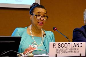 commonwealth head warns of dangers of denying justice to all