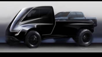 Elon Musk says Tesla will unveil its 'Cybertruck' this month (TSLA)