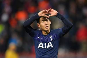 tottenham striker son heung-min refused to celebrate champions league brace