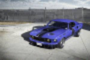 the ringbrothers mustang mach 1 unkl packs a 700-hp boss engine