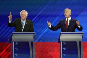 Dems think Bernie better on MOST policy issues, but will vote for Biden in hopes ...