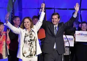 Kentucky governor race too close to call; Dems flip Virginia