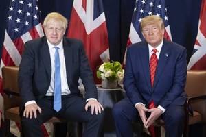 Trump, Johnson discuss trade, NATO via phone