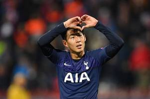 'class!' these spurs fans all noticed what son heung-min did after scoring vs red star belgrade