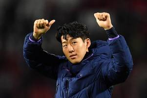 son heung-min sends message to andre gomes after dedicating spurs goal to injured everton star