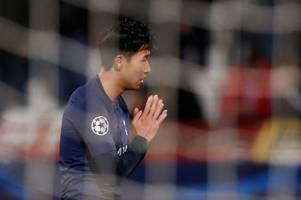 son heung-min explains he didn't celebrate tottenham goals in respect to andre gomes