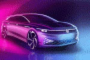 VW ID Space Vizzion concept previews electric wagon due in 2021