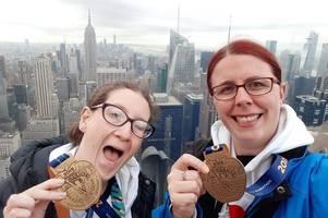 lichfield friends' new york marathon triumph in aid of mencap