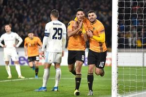 player ratings as raul jimenez delivers again to put wolves on the brink