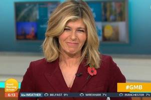 kate garraway accidentally 'confirms' she's heading into i'm a celebrity 2019 with huge gmb hints