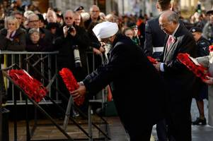 Remembrance Day 2019 in Birmingham - road closure times and order of service