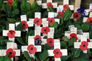 Tamworth Remembrance Sunday Services and Parades