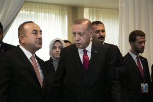 Al-Baghdadi's inner circle trying to enter Turkey: Erdogan