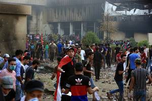 Iraq protests: Four anti-government activists shot dead despite promise not to use live rounds