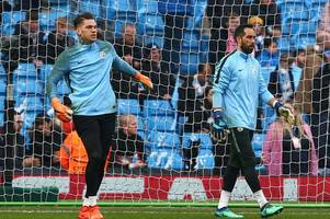 Man City goalkeeper Ederson ruled out of Liverpool clash - Claudio Bravo to start