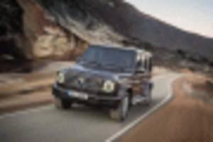 Electric Mercedes-Benz G-Class confirmed