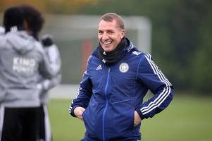 Predicted Leicester City line-up v Arsenal: Brendan Rodgers' side hunt for fourth straight win