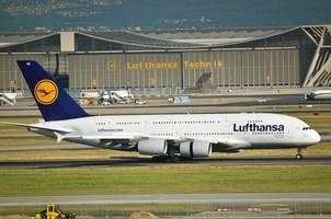 German airline Lufthansa's crews on strike for 2nd day