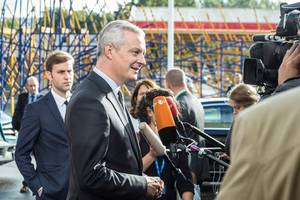 progress on ecb digital currency possible next year -le maire