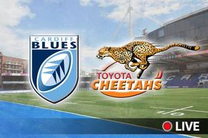 Cardiff Blues v Cheetahs Live: Latest updates, team news and kick-off time as Blues look to end losing streak