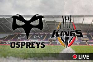Ospreys v Southern Kings live: Latest updates, team news, kick-off time and TV details for Guinness PRO14 clash