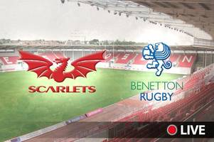 Scarlets v Benetton Live: Latest updates, TV details, kick-off time and team news for PRO14 clash