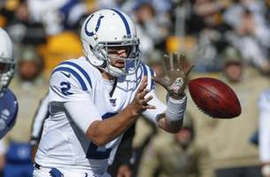 QB Hoyer to make 1st start with Colts; Brissett ruled out