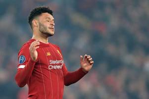 Liverpool expected line-up vs Man City - Alex Oxlade-Chamberlain set to be snubbed
