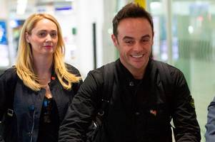 Ant McPartlin arrives in Australia with Anne-Marie Corbett by his side for I'm A Celebrity