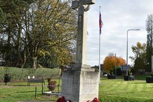 Pictures from town and village Remembrance Sunday services around North East Lincolnshire