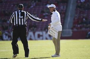 AP Source: Arkansas fires Chad Morris after going 4-18