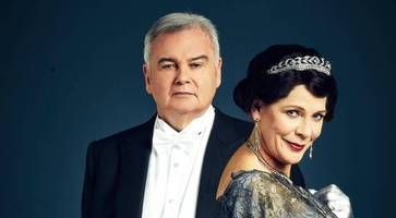 christmas treat as northern ireland's tv royalty sample the grandeur of downton abbey life